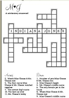 cheesecrossword